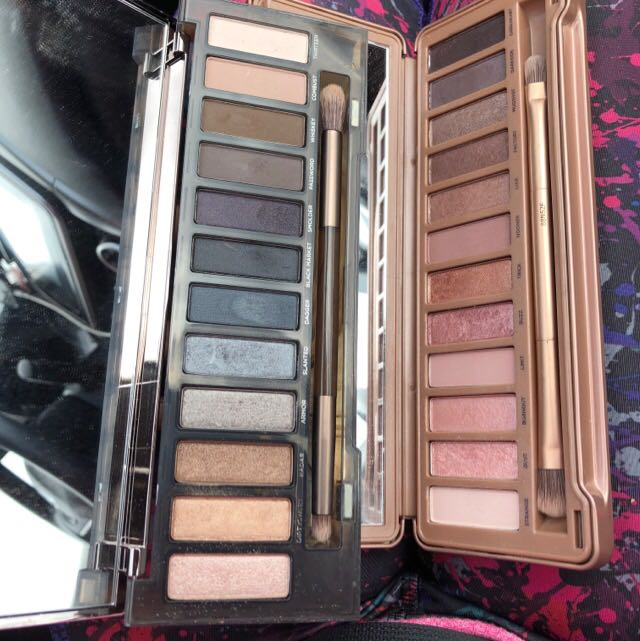 Urban decay Naked 1 and Naked 2