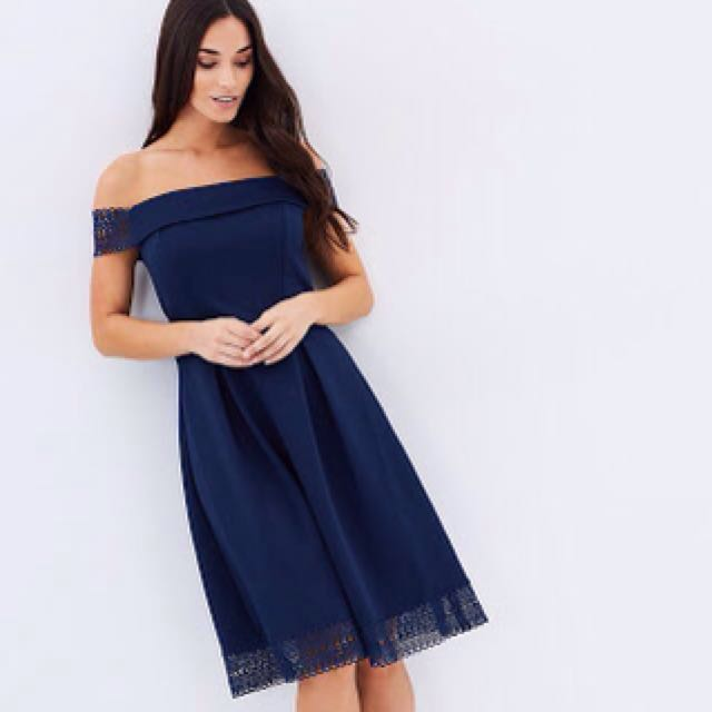 USED ONCE Dorothy Perkins Navy Blue Dress