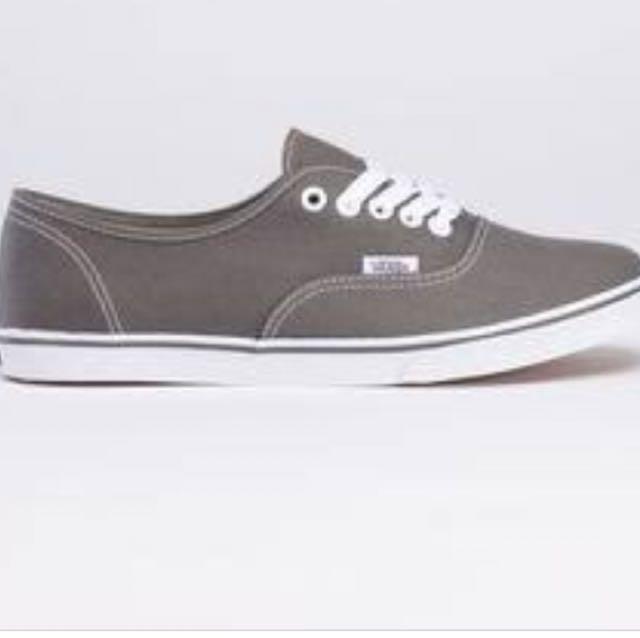 Vans grey slimline 8.5