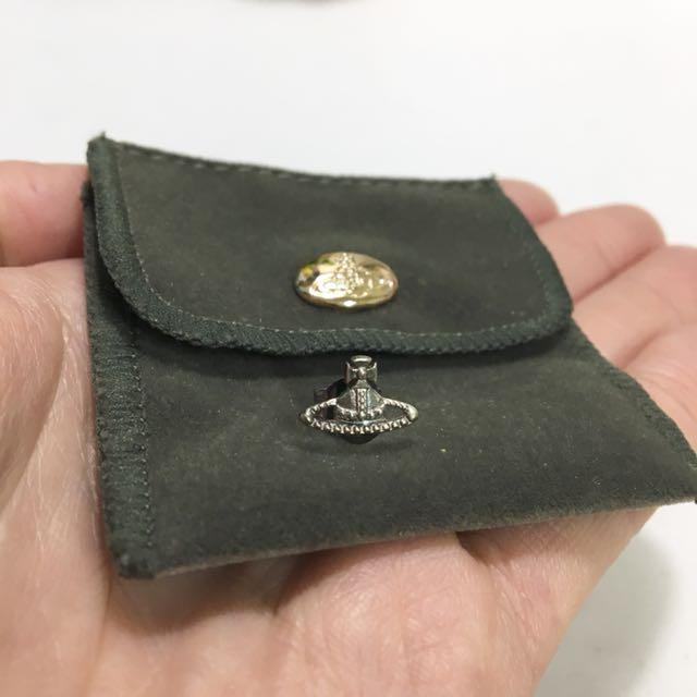 Vivienne Westwood 純銀耳環