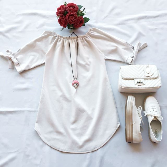 White Tunic ( Long Tops )