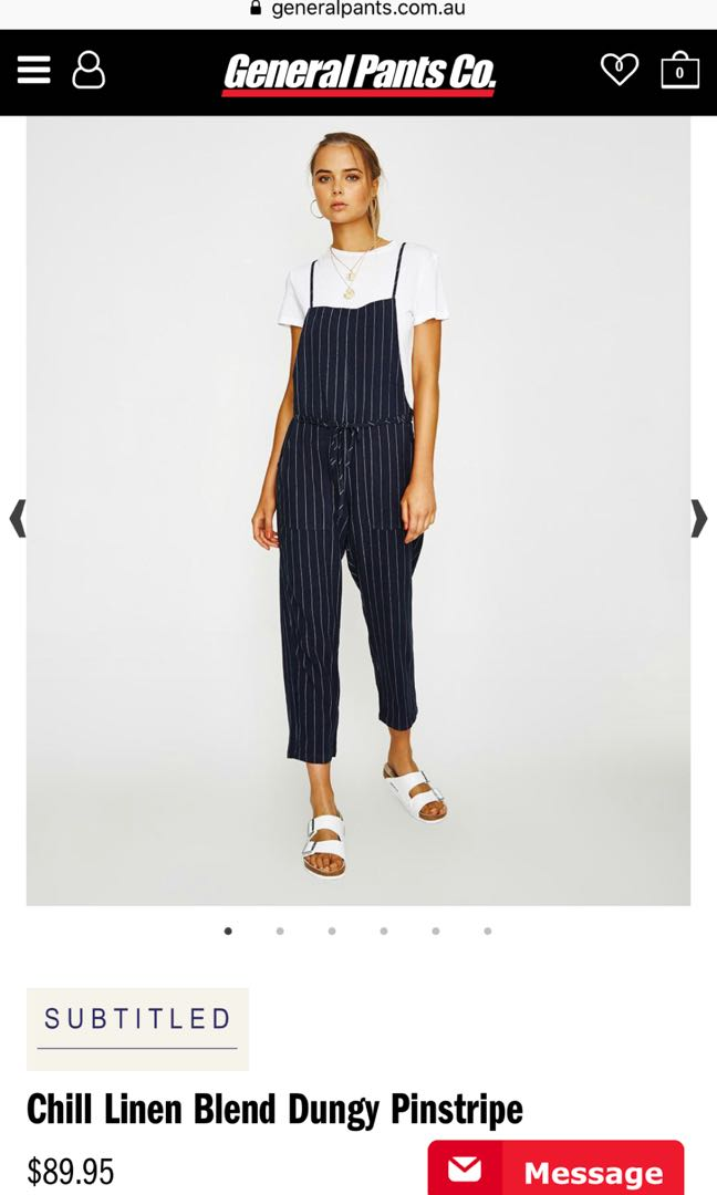 Woman's navy overalls / play suit/ dungaree