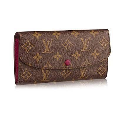 WTB: emilie monogram wallet