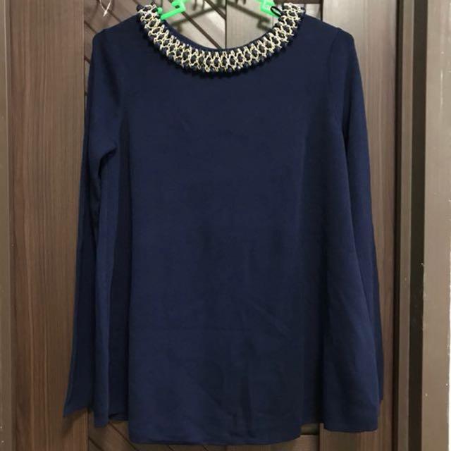 Zara Knit L/S Top