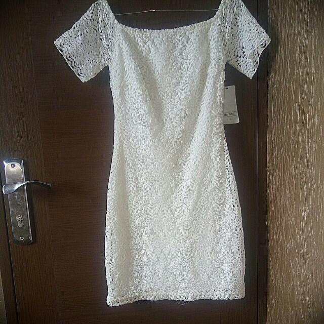 Zara Trafaluc White Dress