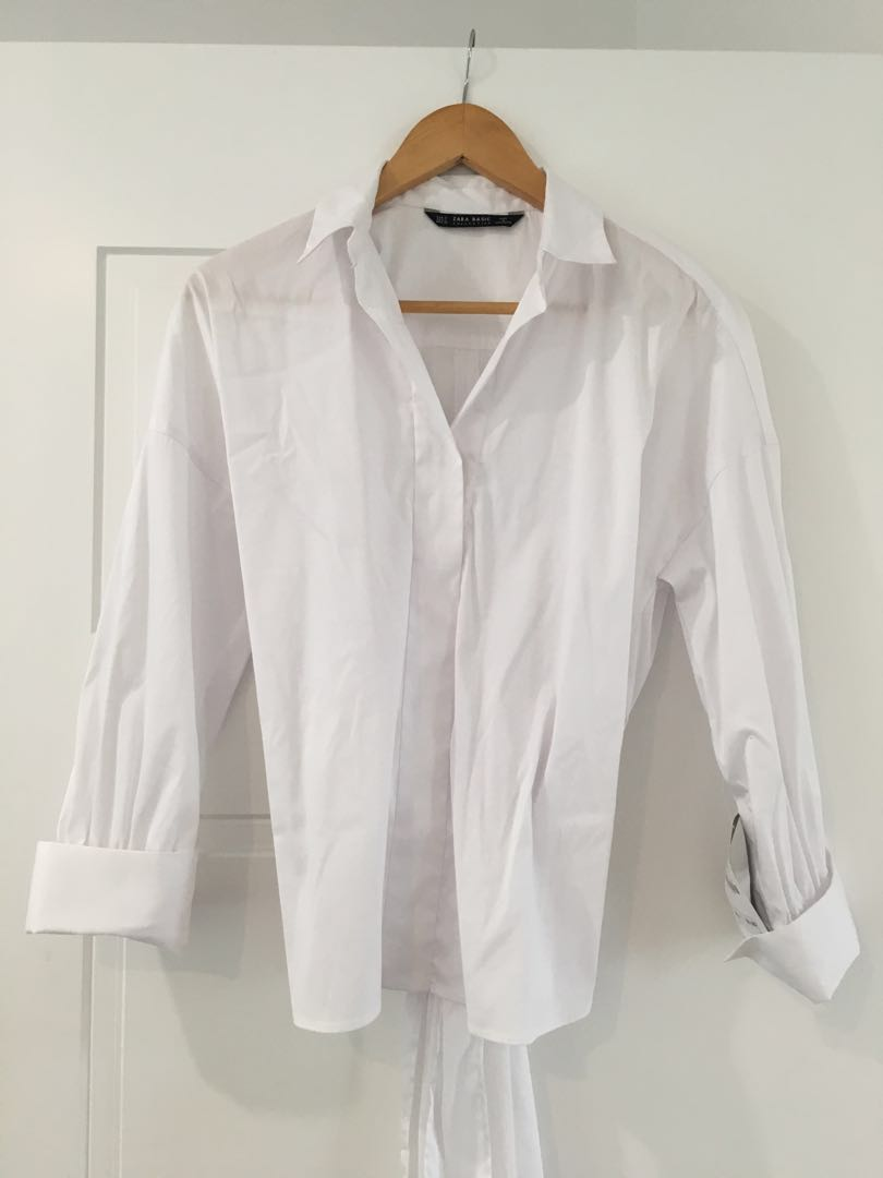 ZARA white dress shirt