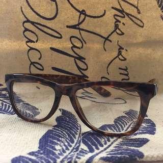 Vintage leopard glasses 復古 豹紋 眼鏡 eyewear