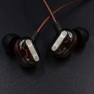 KZ ZSE Dual Driver Bass Earphone Sport Headset Headphone