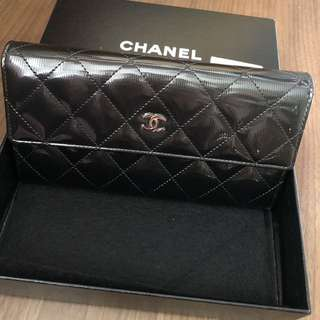 全場最平Chanel long wallet new real