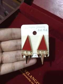 red earring