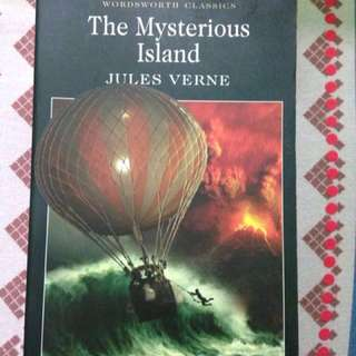 The mysterious island by Jules Verne (classic story)