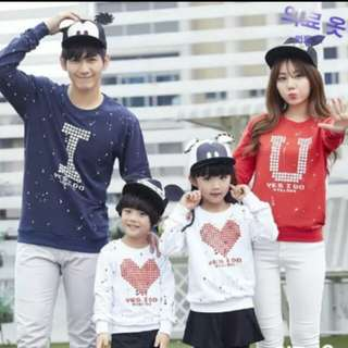 Sweater couple family