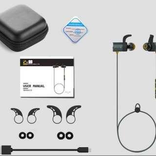 Plextone BX343 Wireless Earphone Bluetooth Headset Sport Headphone
