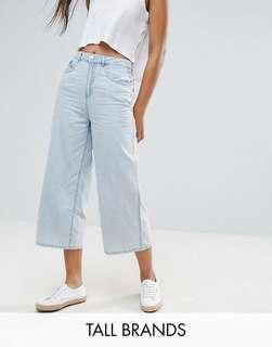 ASOS Vero Moda Tall Denim Culottes
