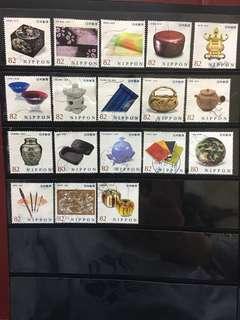 日本傳統工藝品信銷郵票C7