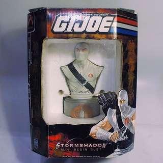 "Palisades GI JOE Storm Shadow Mini Resin 6"" (2002) Numbered Ltd. Edt. Cobra"