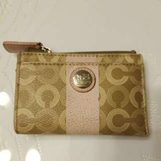 Coach card holder + coins(包郵)