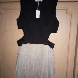 Debenhams by julien mcdonald glitter tutu skirt dress waistless PROM sexy night large
