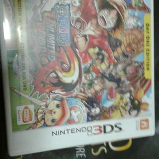 3DS Game One Piece For Sale