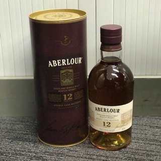 Aberlour Single Malt Whisky 12 Years 亞佰樂單一純麥威士忌 12年