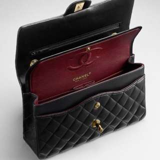 Chanel cavier small flap bag