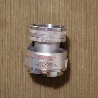 Konica 50mm F2.4 LTM Rangefinder Lens