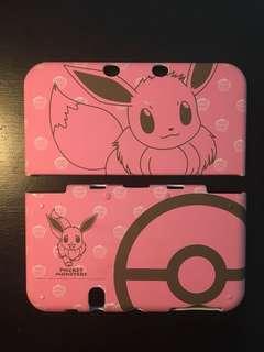 Nintendo 3DS Pink Eevee Pokemon Cover