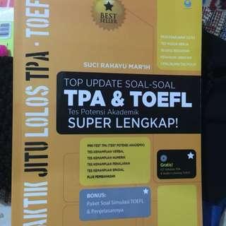 TOP Update Soal - Soal TPA & TOEFL