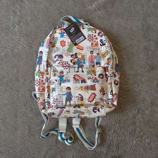 Mode Zero Graphic Backpack