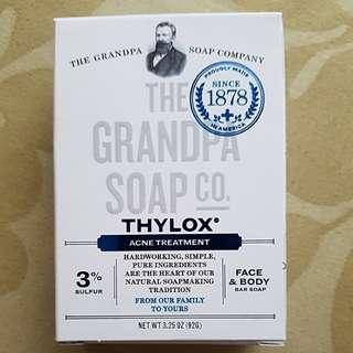 BN Grandpa's Thylox Acne Treatment Bar Soap