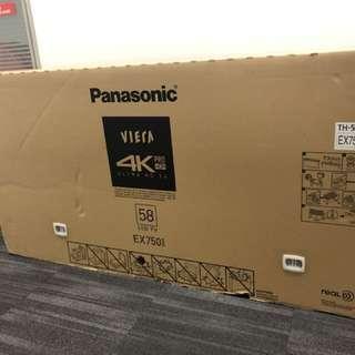 """Brand New Panasonic 58"""" Smart TV"""