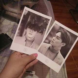 Chen Official Exodus Polaroid