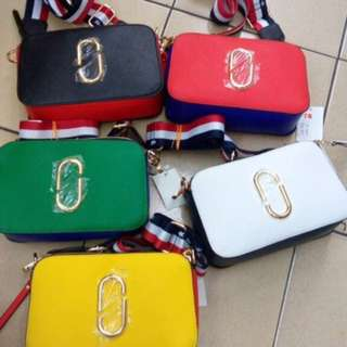 READY STOCK PREMIUM QUALITY Marc Jacobs Snapshot 3 Tones