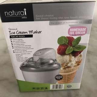 Brand new ice cream maker