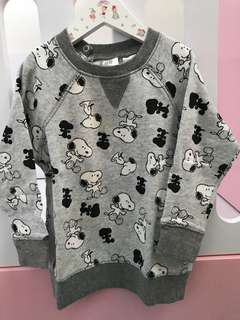 Sweater Anak Snoopy