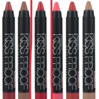 Menow Kissproof Lipstick (red)