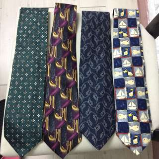 Burberry & givenchy & Armani & Lanvin tie