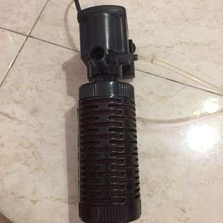Hang On Filter + Water Pump Filter