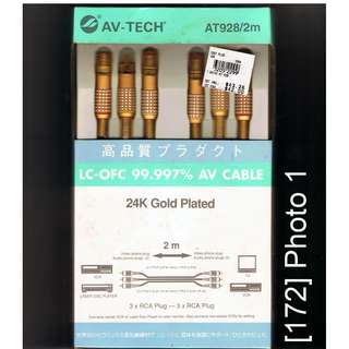 [172] LC-OFC AV cable, 2 m long