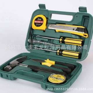 9 PCS TOOLS SET IN A BOX