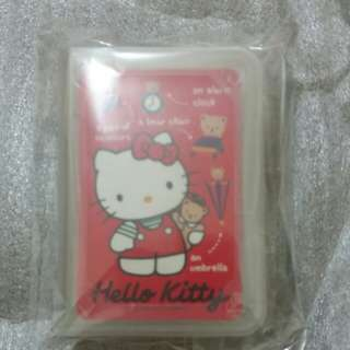 Sanrio Hello Kitty 迷你啤牌1989