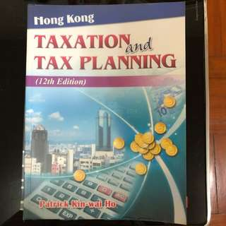 Taxation and tax planning