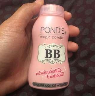 BB POWDER by Ponds.