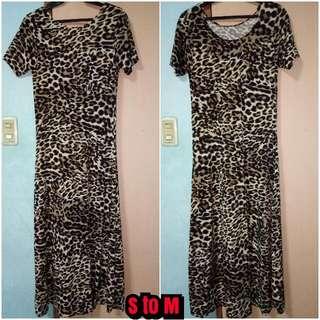 Leopard Long Dress