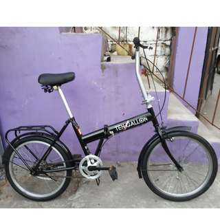 10 GALLON FOLDING BIKE (FREE DELIVERY AND NEGOTIABLE!)