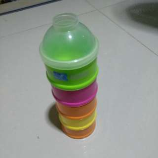 Milk Powder Container new 5 in one set