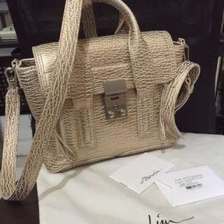 Authenthic like new!! 3.1 phillip lim mini gold