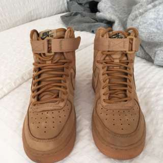"Air Force 1 ""Flax"" High Top"