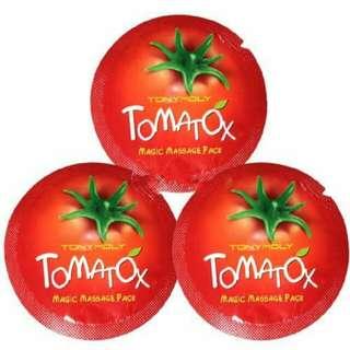 Tony Moly TOMATOAX Samplers