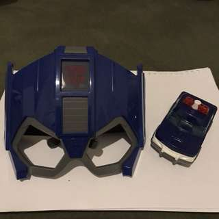 Transformers and police car By MCD Happy Meal